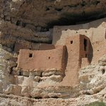 The cliff dwelling of Montezuma Castle
