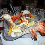 Oyster - King Crab Leg - Jumbo Shrimp