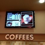 be sure & order hot coffee w whipped cream