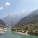 Entrance to Tiger Leaping Gorge