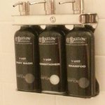 In-shower amenities
