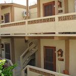 Sun units with private verande