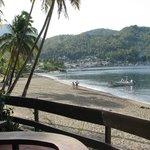 Soufrier beach at The Still Hotel