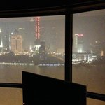 View on Pudong at night