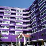 Violet building