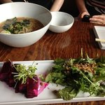 Beet Salad and Lucky Bowl