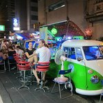 The Funky VW Minivan Bars