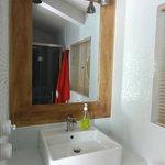 Salle de bain open space