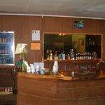 bar area in main building