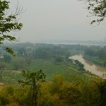 Golden Triangle; Myanmar (far), Laos (rt),