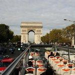 Vue Arc Triomphe