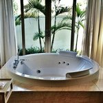 The jacuzzi...