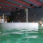 whirlpool area of the pool