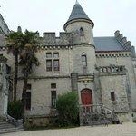 chateau abbadia entrée