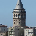 View of Galata Tower from room 61