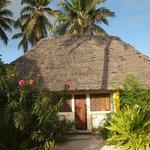 """Le logement, appelé """"bungalow"""""""