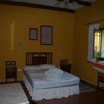 Schlafzimmer gelb