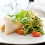 La cuisine du restaurant Albert Café à Marseille sur les hauteurs de la Corniche