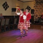 Evening entertainment; exhibition Highland dancing.