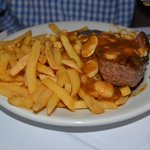 filet mignon with fries
