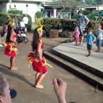 Polynesian show across from Castle Fun!!