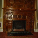 feature fireplace. Very regal!!