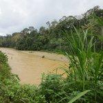 der Fluss zum überqueren