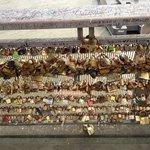 Locks on the bridges