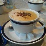 Замечательный кофе за завтраком