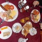 Excelente desayuno!! Igual podías ir por una opción mas tranquis