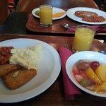 lovely choice at breakfast