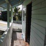 Balcon étroit de la chambre Slothe.