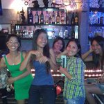 Thanks to the Wave Bar girls: Kim, So Vy, Loan, Lee. Trang and Bang too....