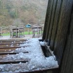 Spring-time hailstones!