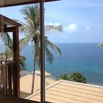view from our bungalow (no. 3523)