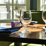 Blu Stone Window Table