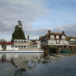 Swan and Paddle Steamer