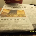 Complimentary LA Times