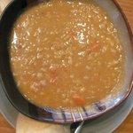 EXCELLENT Greek bean soup