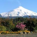 Ganz in der Nähe: Vulkan Villarica.