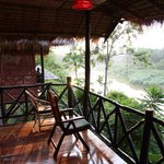 Balcony River View Bungalow