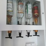 in room liquor dispenser