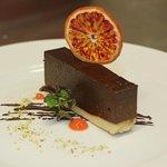 Chocolate orange mousse cake - gluten-free, dairy-free and paleo