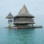 maison dans l'archipel de san bernardo