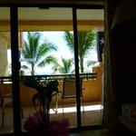habitacion con hermosa vista al mar