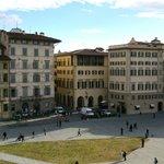 toller Ausblick auf die Piazza Santa Maria Novella