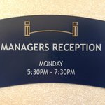 Manager's Reception