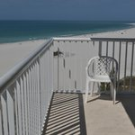 View from Penthouse porch - top floor available to guests