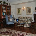 Downstairs Library Parlor