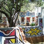 Ndebele rooms for guests
